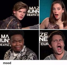 HIGHKEY THOMAS BRODIE SANGSTER IS THE BEST AT GIVING DRAMATIC EFFECT TO CAMERA. Also these are precisely all my moods and faces during the maze runner, scorch trials, AND the death cure