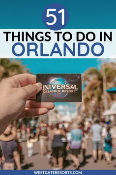 Click here for a list of over 50 of the best things to do in Orlando, Florida. Between the best Orlando theme parks, the best things to do in Orlando with kids, and the best things to do in Orlando besides Disney, this list covers it all. Find the best outdoor activities in Orlando, unique things to do in Orlando, and things to do in Orlando for couples. #orlando #orlandotravel #orlandotravelguide | Orlando travel guide | things to do in Orlando cheap | things to do in Orlando fun Orlando Travel, Orlando Resorts, Orlando Florida, South Florida, Cruise Florida, Florida Vacation, Vacation Villas, Best Vacation Spots, Family Vacation Destinations