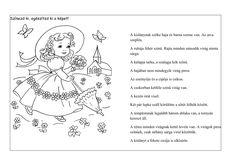 Kis hölgy Néma,értő olvasás