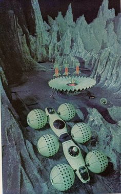 Futurama II- The Moon Base / The world of 2014 as seen at the GM pavilion at the 1964 New York World's Fair