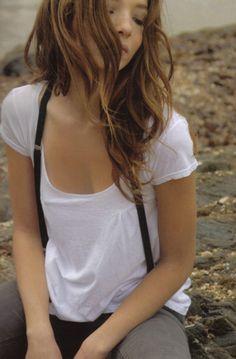 Skinny suspenders
