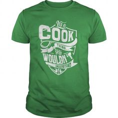 COOK T Shirts, Hoodies. Get it here ==► https://www.sunfrog.com/LifeStyle/COOK-87549884-Green-Guys.html?41382
