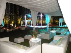 Lounge area and stunning dance floor in the outsides of Florence in the Tuscan hills  www.guidilenci.com