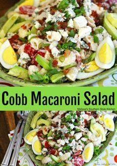 Cobb Macaroni Salad Cobb Macaroni Salad Recipe :...  Cobb Macaroni Salad Cobb Macaroni Salad Recipe : ift.tt/1hGiZgA And My Pinteresting Life | Recipes, Desserts, DIY, Healthy snacks, Cooking tips, Clean eating, ,home dec  ift.tt/2v8iUYW
