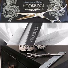 Kamisori Shears! #Scissors #Shears #Hairdressing Shears Scissors, Precious Metals, Fan, Fans, Computer Fan