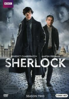 Sherlock: Season Two (DVD) This set brings together three new mysteries from the second season of SHERLOCK, the series that featured Benedict Cumberbatch as the enduringly popular private eye and Martin Freeman as his loyal sidekick Dr. Watson.