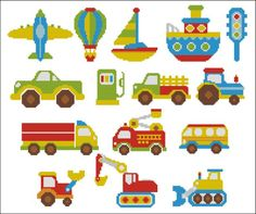 Bright Color Vehicles Mini Collection - Click Image to Close