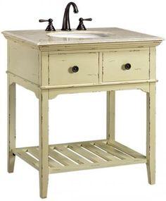 Spencer Single Sink Vanity - Bathroom Vanities - Bathroom Furniture - Bathroom | HomeDecorators.com