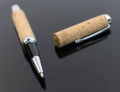 Deluxe Pen made of Natural tree Cork Anti-allergic soft and pleasant texture
