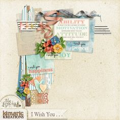 kimeric kreations: I Wish You . . . new this week! And a gorgeous cluster and the new July Template tonight!