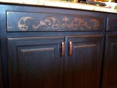 How-To Faux Finish And DIY Kitchen Cabinet Videos