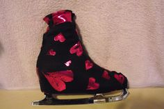 Ice Roller Skate Boot Covers Lycra Patterned L K More to Choose From