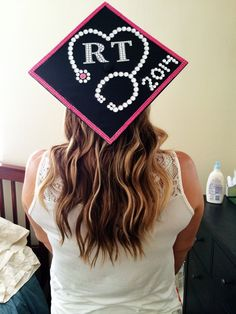My cap for respiratory therapy graduation RT