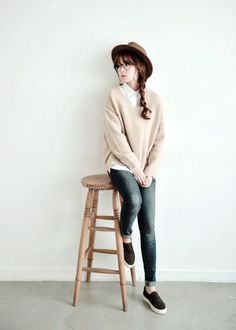 Simple and Sexy Korean Fashion Looks0011