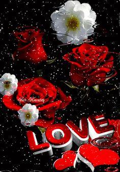 Animasyonlu Fotoğraf I Love You Images, Love You Gif, Beautiful Love Pictures, Beautiful Gif, Beautiful Roses, Flower Phone Wallpaper, Heart Wallpaper, Love Wallpaper, Flowers Gif