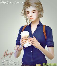 Mayims: Sims 4 Items - May_TS4_Coffee