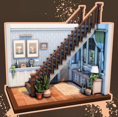 Sims 3 Houses Ideas, Sims 4 Houses Layout, Sims 4 House Building, Sims House Plans, Sims 4 Challenges, Cute Minecraft Houses, Sims 4 House Design, Architecture Building Design, Casas The Sims 4