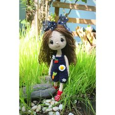 Crochetdoll cute ☆