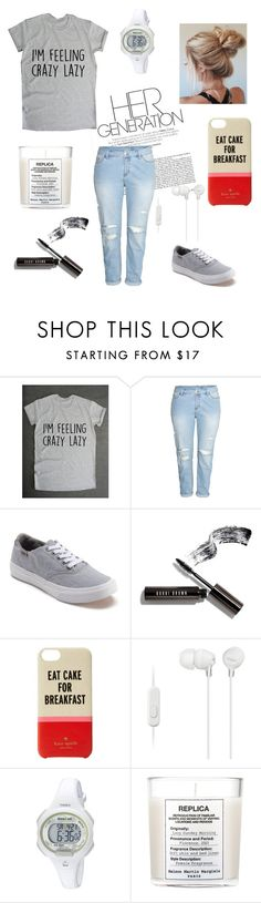 """Let The Good Times Roll"" by emmy-awards ❤ liked on Polyvore featuring H&M, Vans, Bobbi Brown Cosmetics, Kate Spade, Sony, Timex and Maison Margiela"