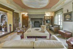 Original Fireplace in villa #luxury #langhe #tourism #rent