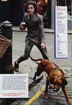 So British, I love it and him