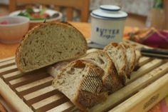 Whole Wheat Sour Dough Bread Sourdough Recipes, Sourdough Bread, Great Recipes, Favorite Recipes, Dinner Rolls Recipe, Baking Stone, Oat Flour, Sweet Bread, Original Recipe