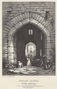 Dudley Castle. North Gateway mid 19th century Local Studies, Central Library, 19th Century, Castle, History, Stone, Genealogy, Nature, Travel