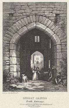 Dudley Castle. North Gateway mid 19th century