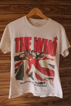 Authentic Vintage TShirt THE WHO Band The Kids Are by BeardVintage, $21.00