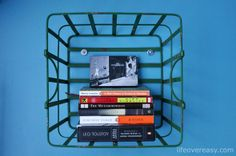 wire basket shelving - and a Home Sense Giveaway