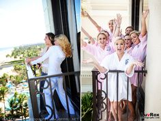 10 Must-Have Wedding Photos with The Girls -- The Balcony Shot