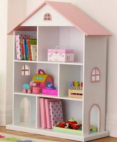 This bookshelf would look seriously cute in my baby girl's nursery...