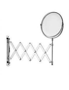 Zigzag Extendable Bathroom Mirror