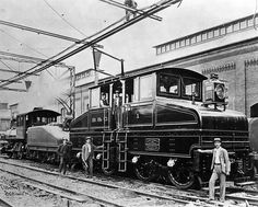 Baltimore & Ohio Electric Locomotive, 1895