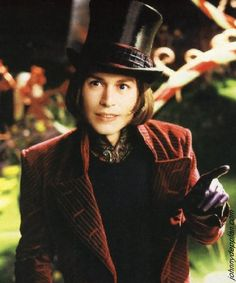 Willy Wonka. Quite possibly one of the best book/movie characters ever