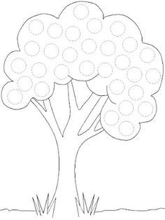 Crafts,Actvities and Worksheets for Preschool,Toddler and Kindergarten.Lots of worksheets and coloring pages. Fall Preschool, Preschool Learning, Educational Activities, Toddler Activities, Preschool Activities, Tracing Worksheets, Kindergarten Worksheets, Do A Dot, Pre Writing