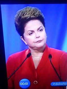Essas caras que a Dilma tá fazendo. Hahahahahaha