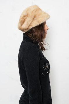 Kimi vintage fur hat by BoatPeopleVintage