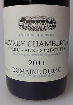 2011 Domaine Dujac Gevery Chambertin 1er Cru Aux Combottos #Dujac #Burgundy #France #wine