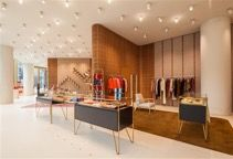 Bally Ginza Flagship Store in Tokyo with FELTRO COLOR Interior Inspiration, Conference Room, Interior Design, Architecture, Table, Tokyo, Color, Furniture, Store