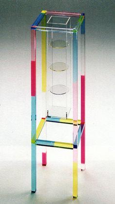 Shiro Kuramata, Curiosity Cabinet, 1989