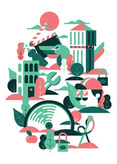 A sunny morning in Milan Marco Goran Romano in Illustration