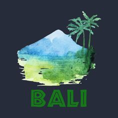 Check out this awesome 'Bali' design on Bali Lombok, Creative T Shirt Design, Vintage Travel Posters, Shirt Designs, Awesome, Check, Movie Posters, Outfits, Tatoo