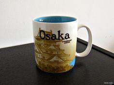 Starbucks Mug - Osaka, Japan - Global Icon Series