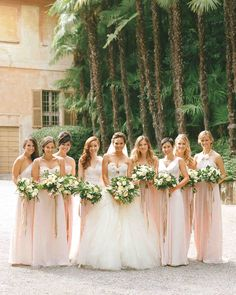 Take one Grammy-winning singer, add one gorgeous model, three unforgettable Vera Wang gowns, and dozens of friends and relatives who came to Lake Como, and you've got a destination wedding that celebrates love, Italian-style.
