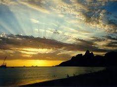 sunset, rio de janeiro, brasil