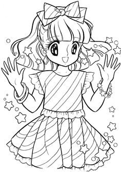 Nour Serhan uploaded this image to 'Tinkle Dreamy Joanna colouring book'. See the album on Photobucket. Coloring Sheets For Kids, Cute Coloring Pages, Coloring Pages For Girls, Manga Coloring Book, Coloring Books, Disney Drawings, Cute Drawings, Printable Adult Coloring Pages, Princess Coloring