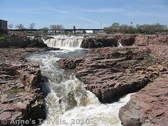 Sioux Falls, Falls Park, South Dakota (right off I-90, I-29, and I-229)