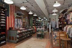 Mueble    Gant Rugger store, New York