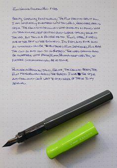 Pilot Kakuno best for beginners (handwriting grip)